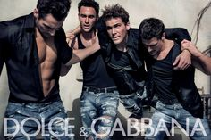 Image result for dolce and gabbana mens campaign