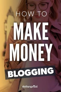 Whether you're just starting a blog, or you need help monetizing your existing blog, you're in the right place to learn exactly how to make money blogging. Here are the 5 ways to monetize your blog from the start. Make Money Fast, Make Money Blogging, Make Money From Home, Make Money Online, Saving Money, Blogging Ideas, Online Earning, Saving Tips, How To Start A Blog
