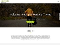 Eightphoto - Best Free Photography WordPress Theme