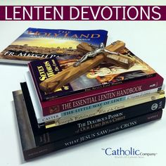 Want to devote more time to spiritual reading this Lent? Dive into meditations with the saints or choose a day by day devotional; find every kind of book to help make your Lent a great one. #CatholicCompany