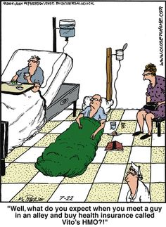 to Home by John McPherson for July 2014 Close to Home Comic Strip, July 2014 on Close to Home Comic Strip, July 2014 on Medical Humor, Nurse Humor, Funny Medical, Health Insurance, Insurance Humor, Insurance License, Life Insurance, Close To Home Comic, Senior Humor