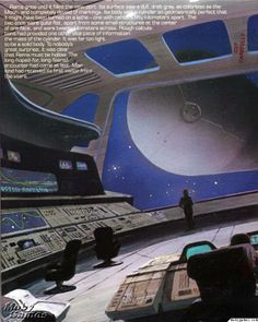 Rendezvous with Rama Commodore 64 Inside Cover Left Side