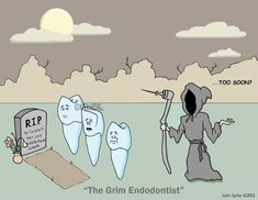Rest in Peace, Mr. Carabelli...haha Hygiene peeps will get this, too funny. #dentistry #dental #funny #Endo