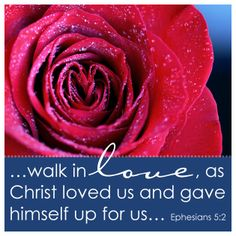 Ephesians 5:2  And walk in love, even as Christ also loved us and gave Himself up for us, an offering and a sacrifice to God for a sweet-smelling savor.