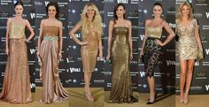 golden dresses