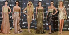 golden dresses