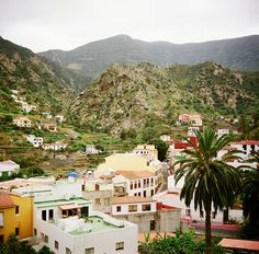 Vallehermoso Canary Islands, La Gomera