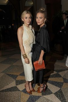 """Ashley and Mary-Kate Olsen both wearing The Row at """"The Fresh Air Funds Salute to American Hero's"""" NYC may 31st 2012......."""