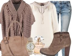 Poncho! - Casual Outfits - stylefruits.nl