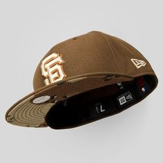 d630dcbb7b4 Upper Playground - SF Giants New Era Fitted Cap in Brown Desert Camo Fitted  Baseball