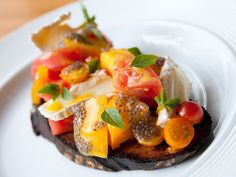 Heirloom Tomato Dishes we love right now.
