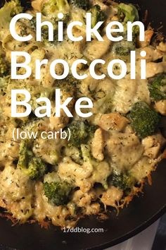 Chicken and Broccoli Bake 17 Day Diet Recipe – Diet 2020 Chicken Breats Recipes, Chicken Broccoli Crockpot, Broccoli Recipes, Healthy Chicken Recipes, Easy Healthy Recipes, Broccoli Diet, Simple Recipes, Keto Recipes, Indian Diet Recipes