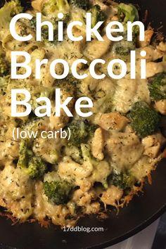 Chicken and Broccoli Bake 17 Day Diet Recipe – Diet 2020 Chicken Breats Recipes, Chicken Broccoli Crockpot, Broccoli Recipes, Healthy Chicken Recipes, Veggie Recipes, Broccoli Diet, Keto Recipes, Indian Diet Recipes, Easy Casserole Recipes