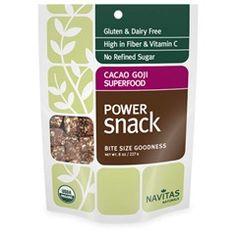 Cacao Goji Power Snacks by Navitas Naturals