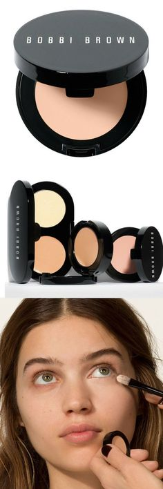 Bobbi Brown #Corrector - Porcelain Bisque  Bobbi Brown Corrector is a wake-up call for tired eyes. It brightens and covers discoloration under the eyes utilizing a pink or peach-based formula, which neutralizes under-eye darkness.  #beauty #makeup #ad