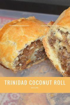 Trinidad Coconut Roll Recipe