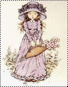 Risultati immagini per imagem de sarah kay Sarah Key, Holly Hobbie, Mary May, Vintage Drawing, Decoupage Vintage, Creative Pictures, Cute Illustration, Little Girls, Childhood