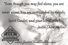 """His abilities have been described as, """"Amazing, incredible, dead-on, scary good"""". Internationally renowned Psychic and Medium- Justin Chase Mullins. #psychic #medium #empath #inspirational"""