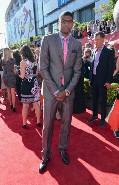 Paul George (Indiana Pacers) at the ESPYs