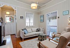 This is my dream living room - love the old Queenslander style