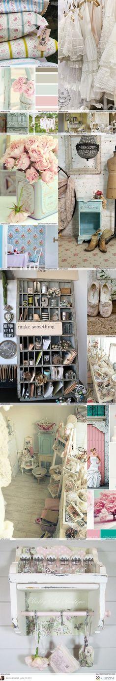Studio Shabby Chic, a collection from Where Women Create Magazine. Which one is your favourite?
