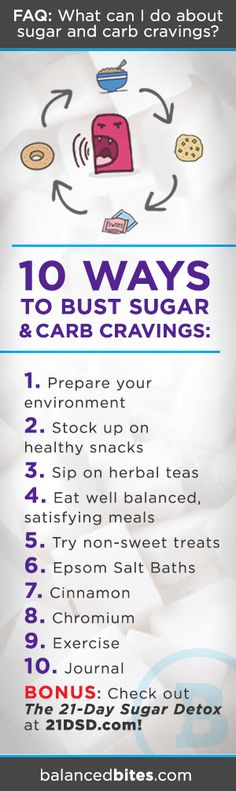 "I get asked this all the time, especially when people are doing the 21-Day Sugar Detox or are new to Paleo: ""What can I do about sugar and carb cravings?""  Before we go any further…"