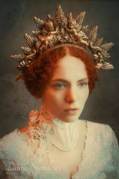 Baroque Halo by HysteriaMachine on Etsy