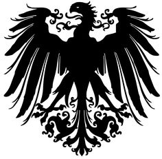 "The Reichsadler (""Imperial Eagle"") was the heraldic eagle, derived from the Roman eagle standard, used by the Holy Roman Emperors and in modern coats of arms of Germany, including those of the Second German Empire (1871-1918), the Weimar Republic (1919-1933) and the ""Third Reich"" (Nazi Germany, 1933-1945).  The same design has remained in use by the Federal Republic of Germany since 1945, but under a different name, now called Bundesadler (""Federal Eagle"")"