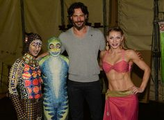 """Actor Joe Manganiello from """"TEN"""", """"True Blood"""" and """"Magic Mike"""" caught TOTEM under the blue and yellow Big Top in Atlanta."""