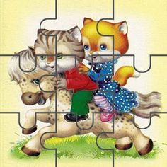 Пазлы для малышей Maze Puzzles, File Folder Games, Kindergarten Activities, Dog Art, Bowser, 1, Teddy Bear, Cats, Pictures