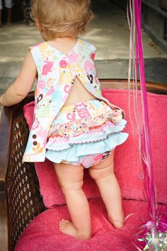 How to Sew Fancy Ruffled Diaper Covers   YouCanMakeThis.com