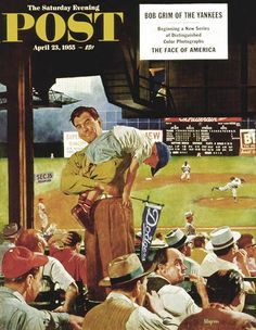 """Sleepy Inning"" by Earl Mayan"