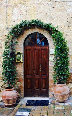 Montalcino, Siena, Italy door