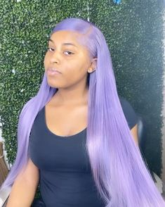 Beautiful Hair Color, Cool Hair Color, Purple Hair Black Girl, Purple Wig, Black Girls, Colored Weave Hairstyles, Twisted Hair, Human Hair Color, Colored Wigs