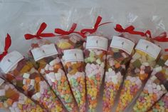 Party candy cones for children