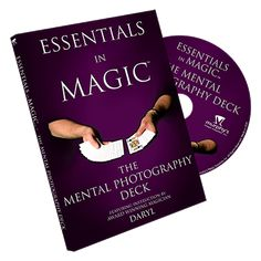 The Essentials in Magic collection gives you the opportunity to enjoy one-on-one instruction from Daryl, the Magician's Magician. Internationally known and respected as one of the world's finest teachers of magic, Daryl personally mentors you through clear, easy-to-understand video segments and helps you to develop and perfect classic  ... get it here: http://www.wizardhq.com/servlet/the-13516/essentials-in-magic-mental-photography-english-video-stream/Detail?source=pintrest