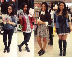 Depois dos Quinze | Bruna VieiraLook das leitoras no lançamento