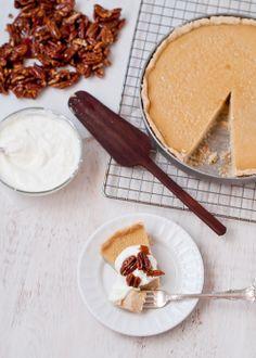 Cafe Johnsonia: Gluten-Free Maple Custard Tart