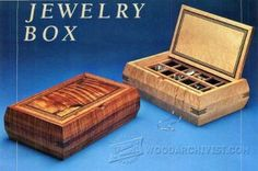 Tea Caddy Trinket Box Plans - Woodworking Plans and Projects | WoodArchivist.com