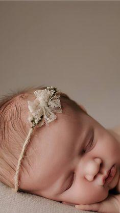 Baby Girl Hair Bands, Baby Hair Clips, Baby Girl Bows, Diy Baby Headbands, Diy Hair Bows, Diy Headband, Baby Girl Hair Accessories, Newborn Tieback, Newborn Photography Props