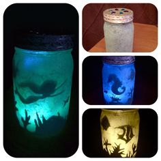 Night Light Jars DIY – You're able to mix and match unique varieties of jars and make a complete selection of sock vases. Now Mason jars may be used in a number of interesting DIY projects. You may keep whatever… Continue Reading → Glow Stick Jars, Glow Jars, Glow Sticks, Mason Jar Crafts, Mason Jar Diy, Bottle Crafts, Diy Design, Toddler Night Light, Fairy Jars