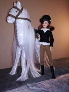 DIY horse for Barbie doll