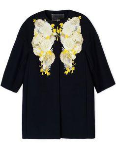 GIAMBATTISTA VALLI Full-Length Jacket. #giambattistavalli #cloth #jacket