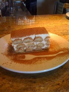 Tiramisu from Via Roma in Rocklin CA