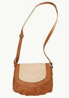 image of Crochet Crossbody Bag