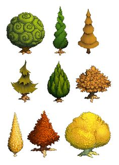 trees and stuff 3 by danimation2001.deviantart.com on @deviantART