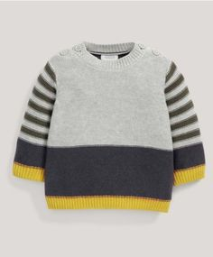 Knitted Stripe Jumper