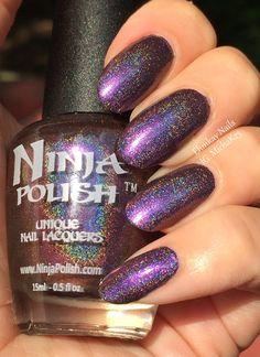ehmkay nails: Ninja Polish Streaking Ninja Swatches and Review