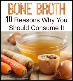 Bone Broth Health Benefits - from strengthening your immune system to helping your liver detox! PrimallyInspired.com
