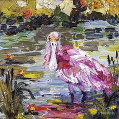 Roseate Spoonbill Florida Birds Oil Painting by Ginette Callaway fineartamerica.com900 × 900Pesquisar por imagens Roseate Spoonbill Florida Birds Oil Painting Painting